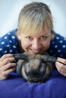 Profielfoto Konijnendeskundige Marilleke Vrancken | Konijnenadviesbureau Hopster