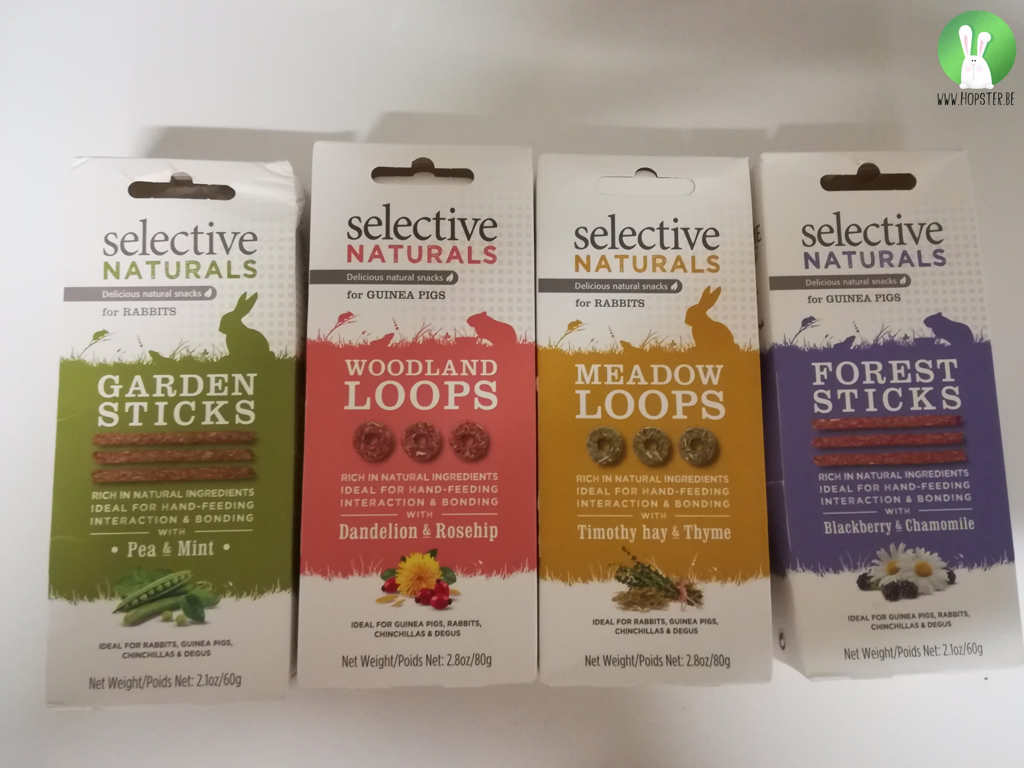 Selective Natural Snacks | Konijnenadviesbureau Hopster